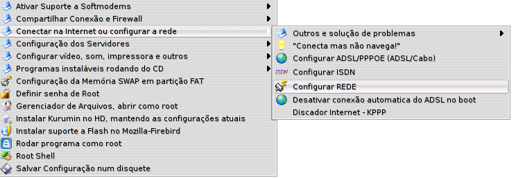 Configurar Interface de Rede